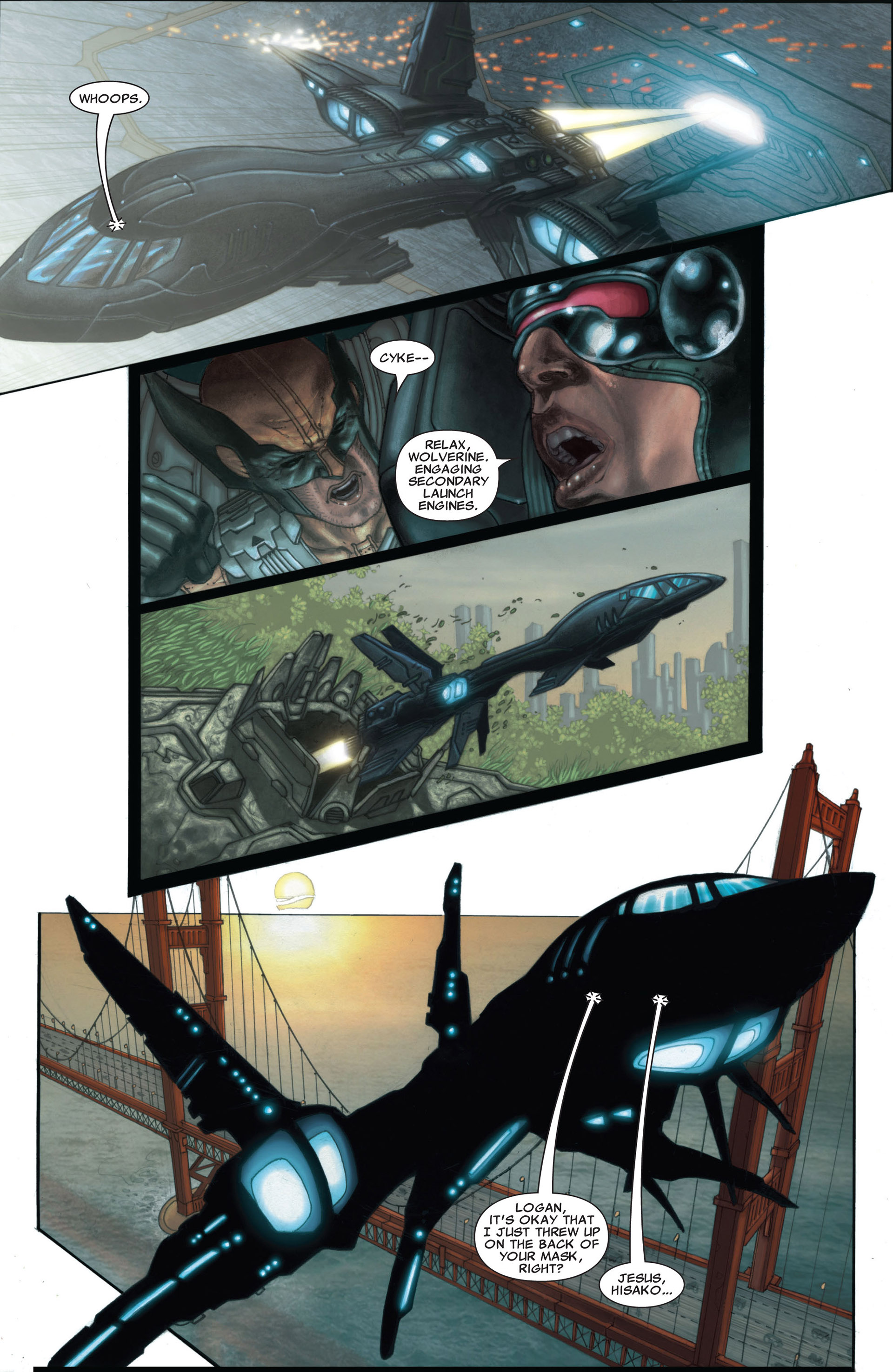 Read online Astonishing X-Men (2004) comic -  Issue #25 - 23