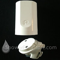 PELICAN SHOWER FILTER REMOVES CHLORAMINE, CHLORINE AND VOC'S3