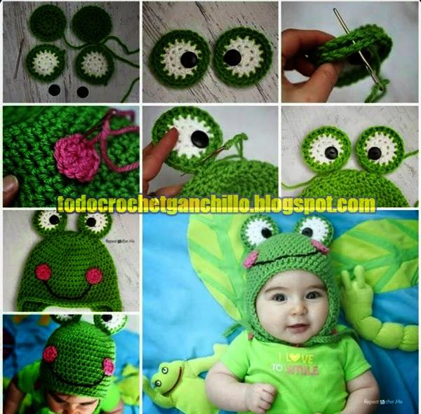 Cómo tejer un gorro con orejeras al crochet - 3 diseños | Todo crochet