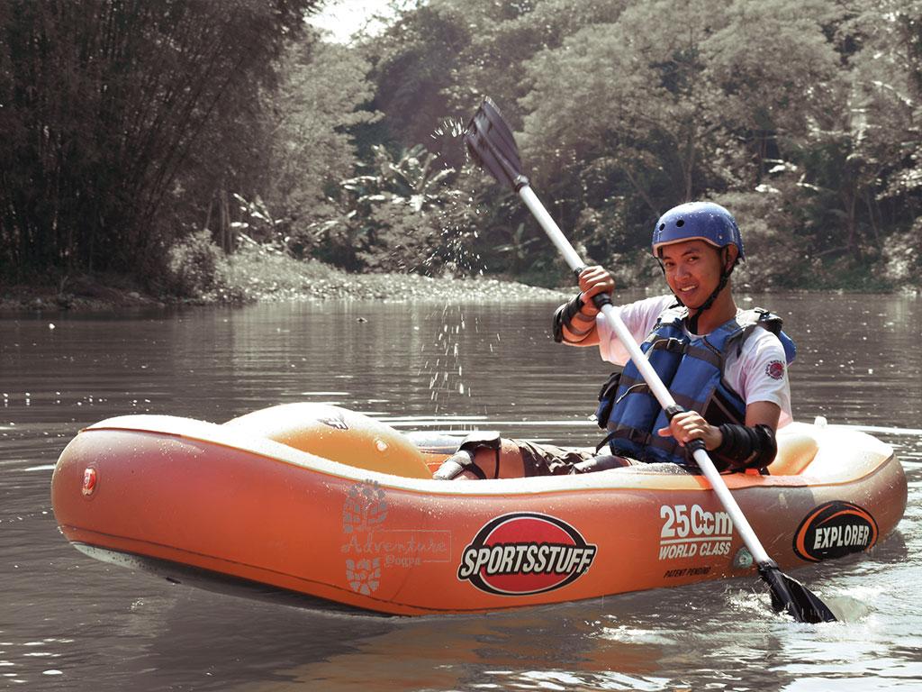 Canoeing Kali Krasak