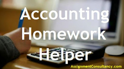 Accounting homework helper