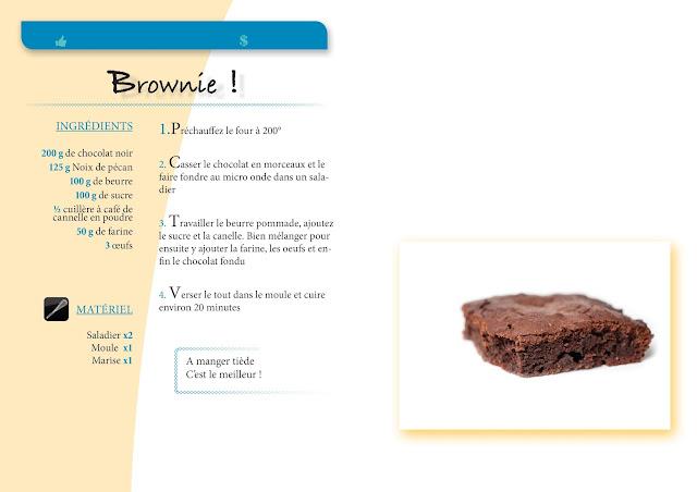 Recette de Brownie gourmande ! Plusieurs variantes possible avec des noix ou noix de pécan, beurre de cacahuète, banane.. et tout autres gourmandises