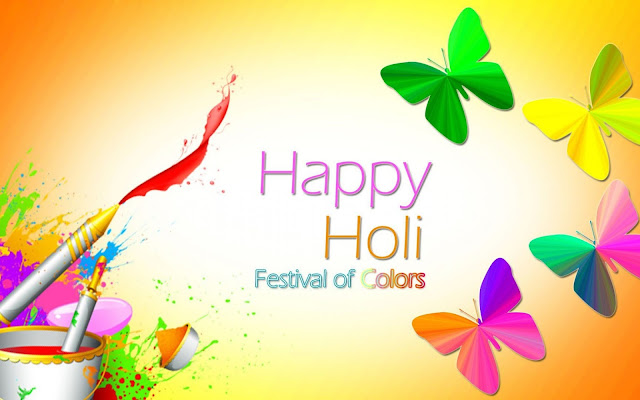 Holi Wallpaper for Facebook