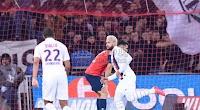 نيمار يقود باريس سان جيرمان لتحقيق الفوز على نادي ليل بث مباشر في الدوري الفرنسي