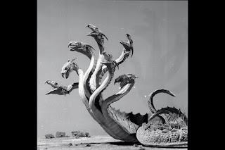 El modelo de la Hidra utilizado en Jasón y los argonautas