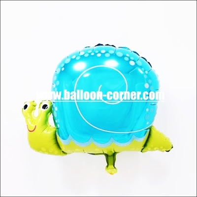Balon  Foil Siput Mini