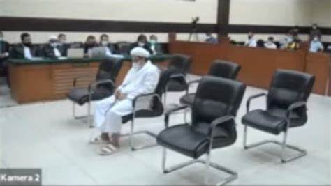 Terbaru, Majelis Hakim Menilai HRS Tokoh Agama yang Dikagumi dan Menepati Janji