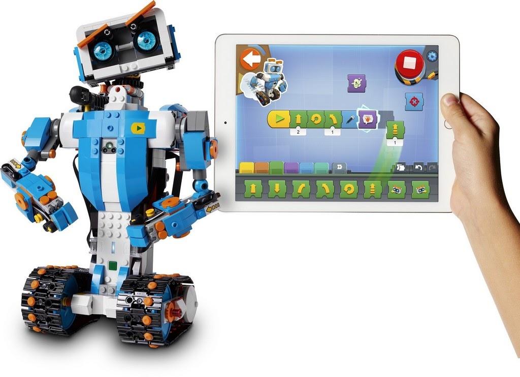 全新樂高機器人Lego Boost系統17101發表:兒童簡化版Mindstorms - 魯蛇實驗室