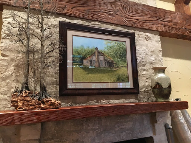 Ivy Ranch on the Brazos River original artwork by Christy Sheeler