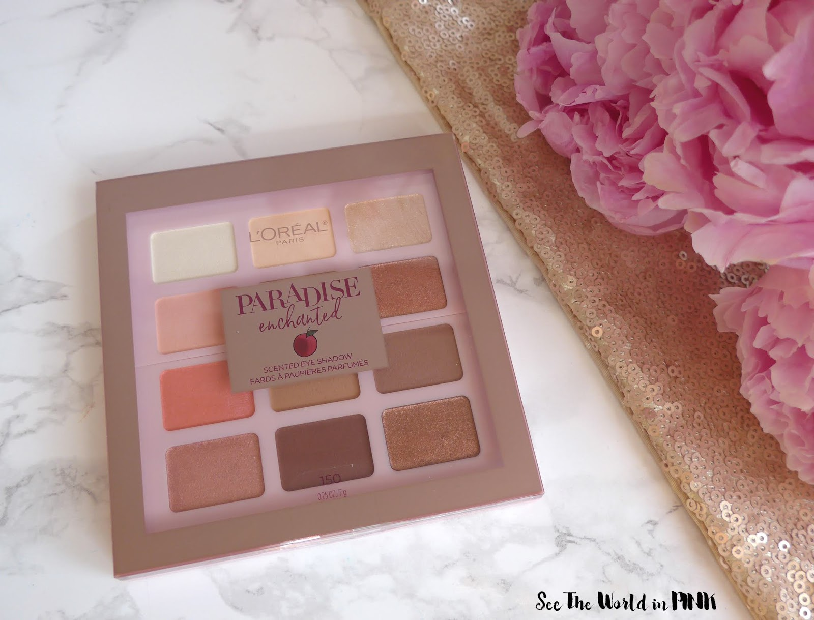 l'oreal paradise enchanted eyeshadow palette