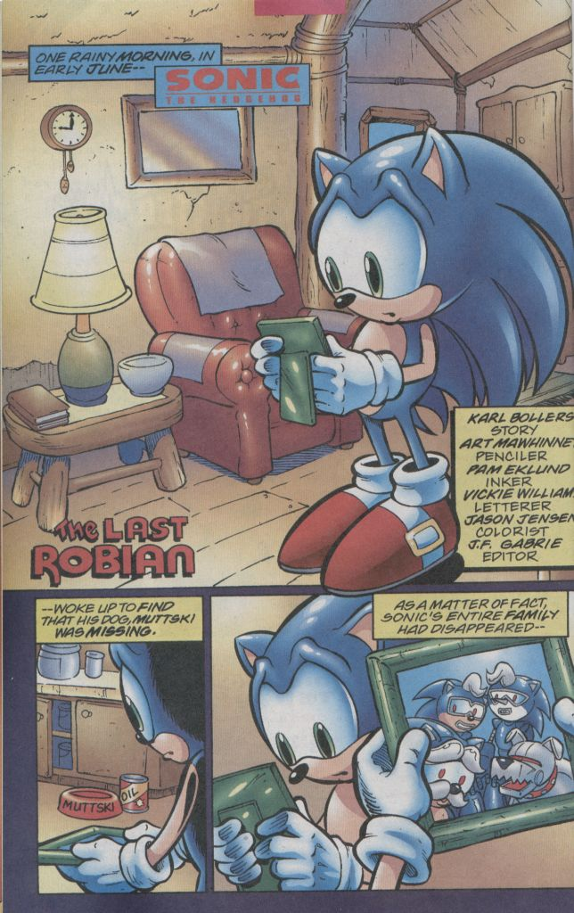Read online Sonic The Hedgehog comic -  Issue #123 - 19
