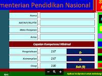 Aplikasi Penilaian Kurikulum Nasional Format Excel Download Terbaru