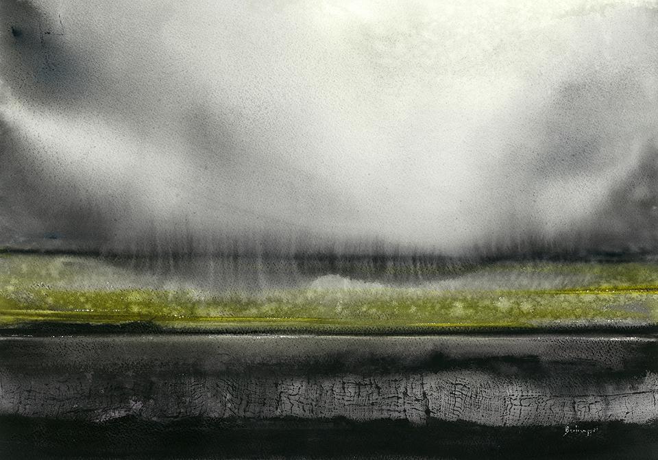 Nowhere land: El engaño de los sentidos - 35x50cm