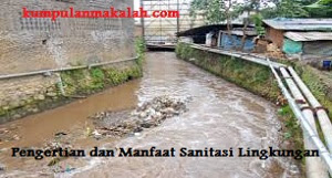 Pengertian dan Manfaat Sanitasi Lingkungan