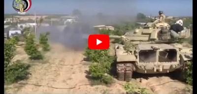 الجيش المصري يسحق داعش في معركة تاريخية لا مثيل لها