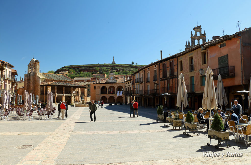 Plaza mayor de Ayllón, Segovia
