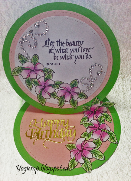 http://www.yogiemp.com/HP_cards/MiscChallenges/MiscChallenges2019/Mar19_RoundEaselPlumeria_ECDHappyBirthday_LetTheBeauty.html