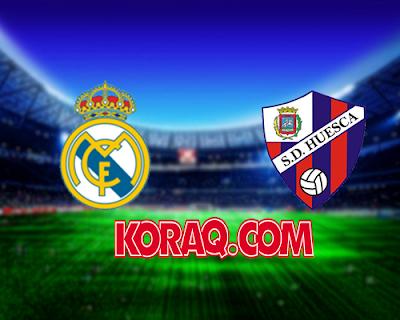 مباراة ريال مدريد وهويسكا  اليوم بتاريخ 09-12-2018 الدوري الاسباني