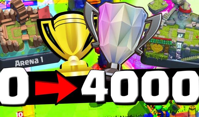 De 0 à 4.000 Troféus em um dia - Gustovow - 1