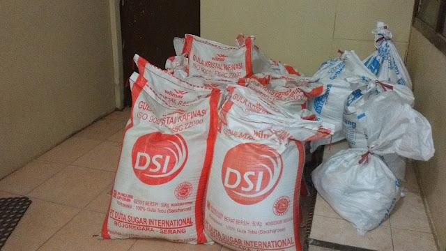 Berbahaya Bagi Kesehatan, 520 Kg Gula Rafinasi Disita di Palopo