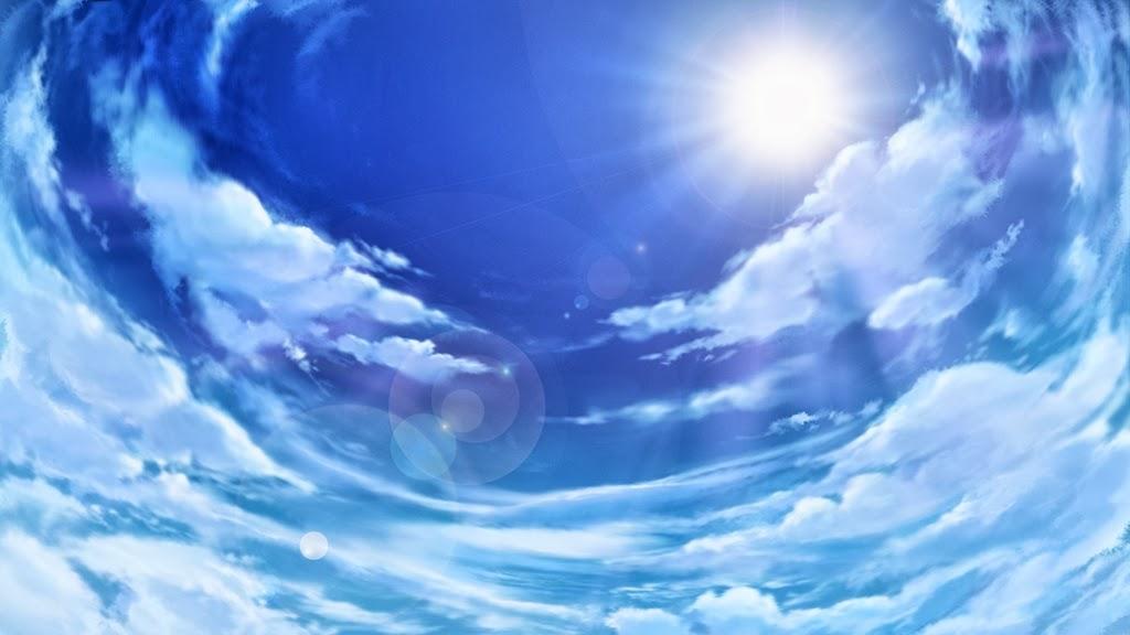 Anime landscape sky anime background - Anime sky background ...