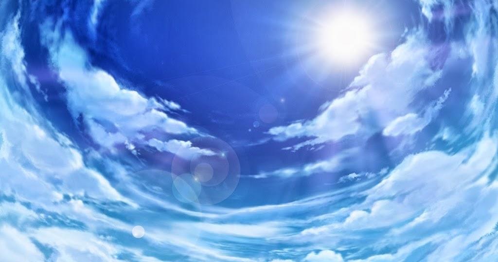 Anime landscape - Anime sky background ...