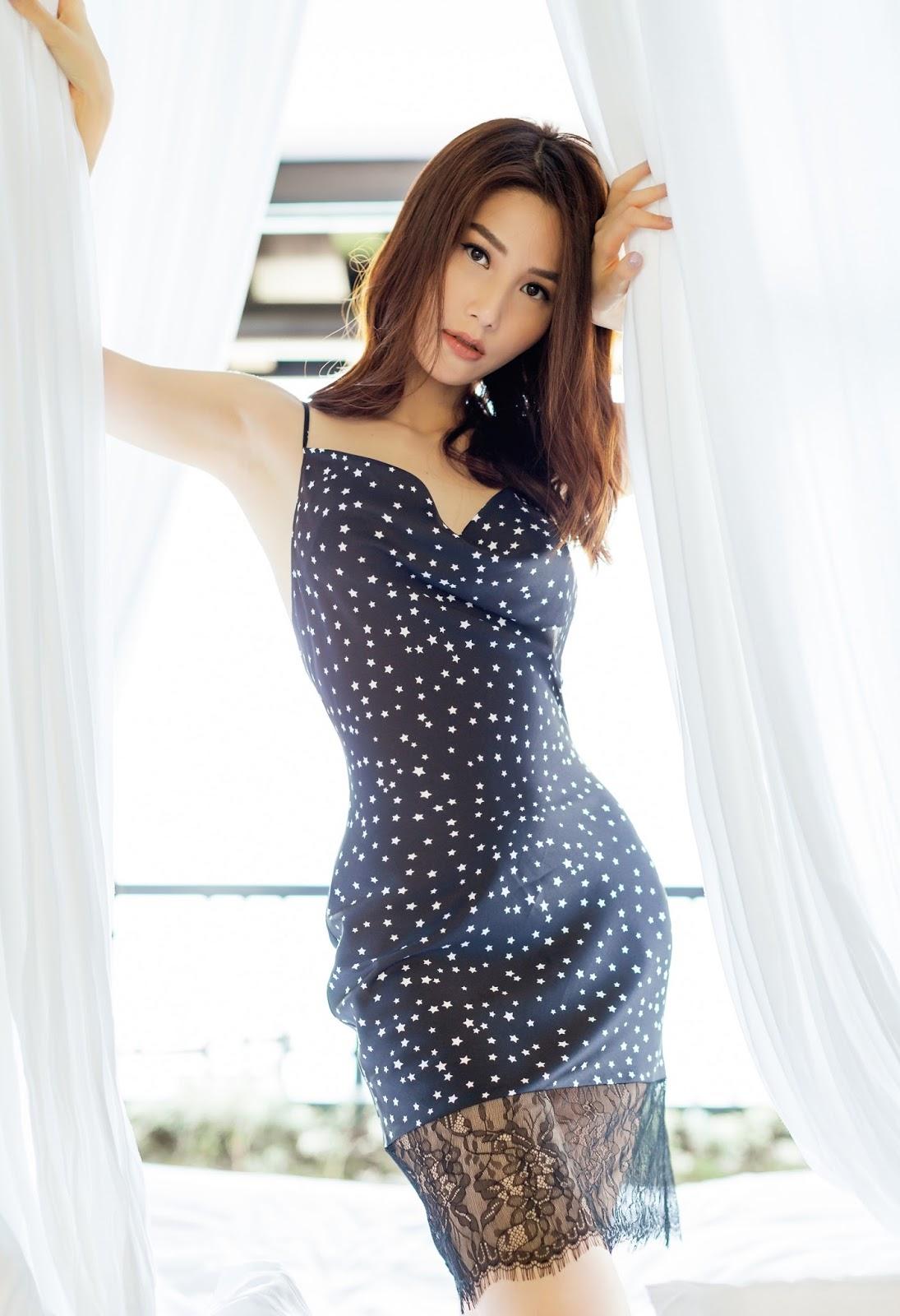 Diễm My 9X khoe hình thể nuột nà với váy ngủ mỏng tang -3
