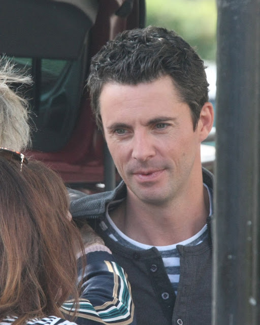 Image of Matthew Goode as father in The Four Kids and It based on the book by Jacqueline Wilson shooting in Ireland