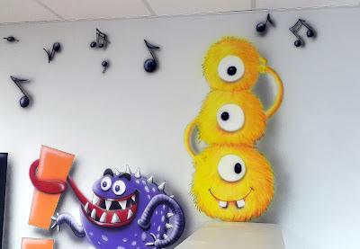 Aranżacja chillout room, projektowanie i malowanie pokoju wypoczynkowego, mural 3D, malowanie obrazów na ścianie