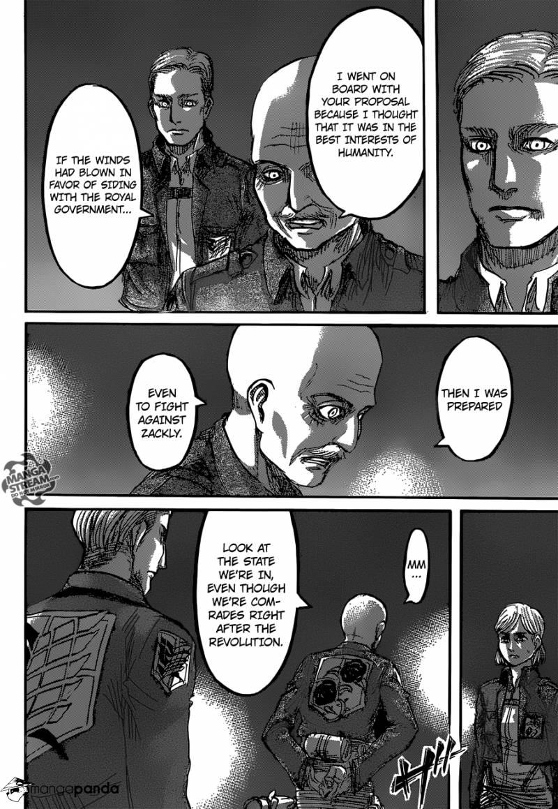 Shingeki no Kyojin Ch 63: Chains