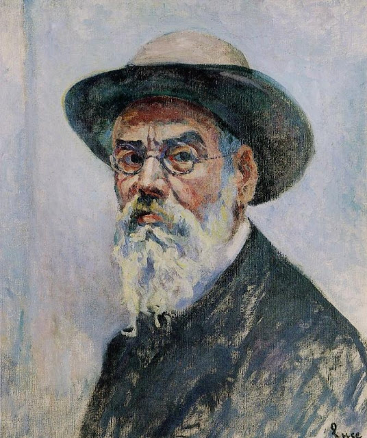 Maximilien Luce, Portraits of Painters, Self Portraits