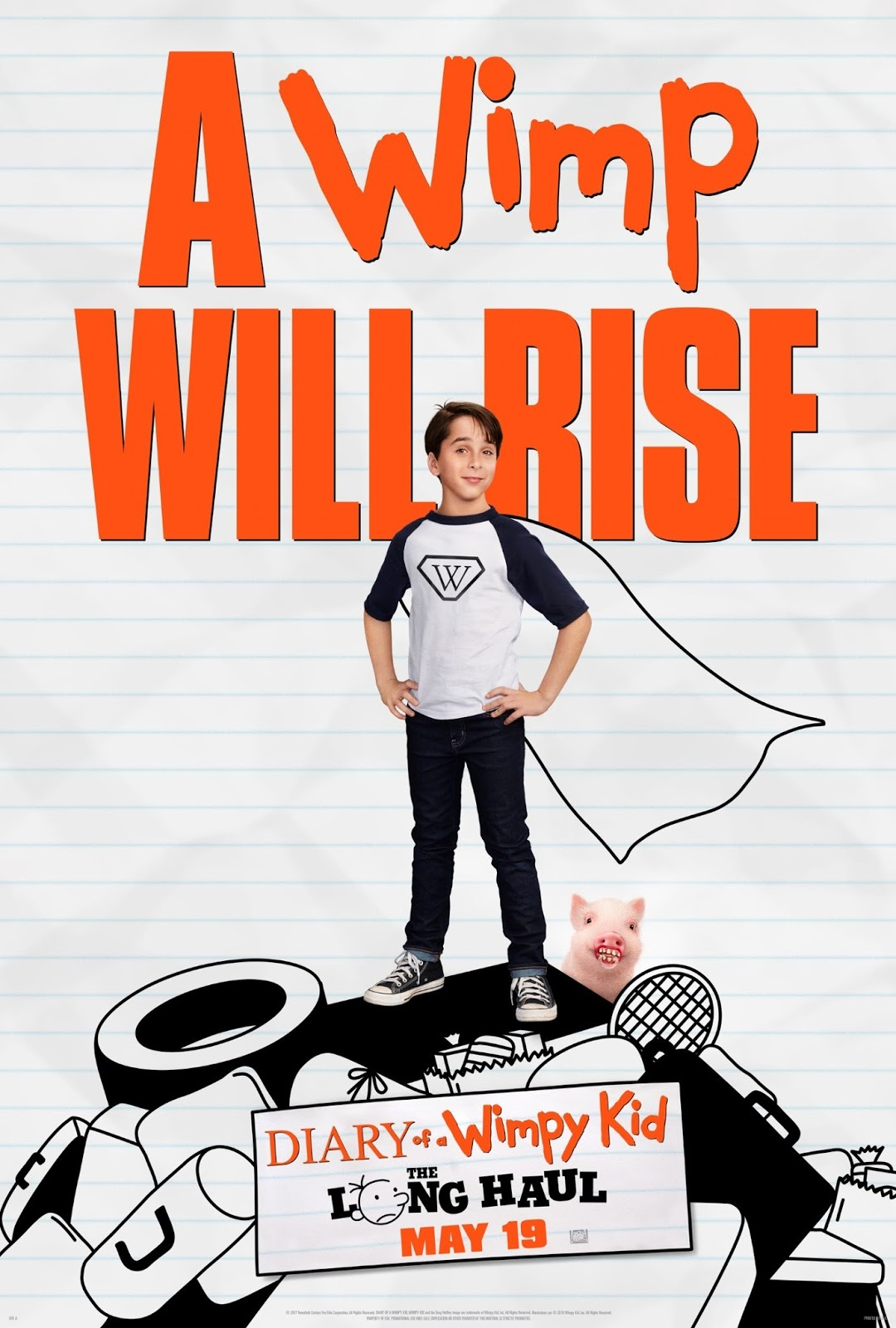 Diary of a Wimpy Kid Author Comes to Maplewood; Tickets