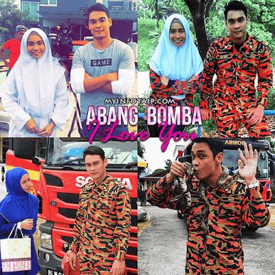 Image result for abang bomba i love you