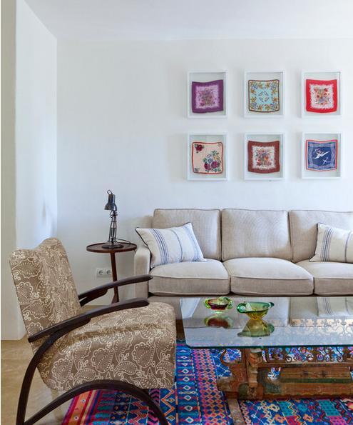 decoração da casa com quadros