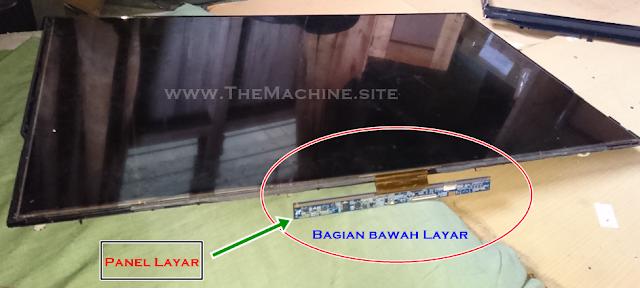 Cara Melepas Layar TV LCD TOSHIBA 32-Inch