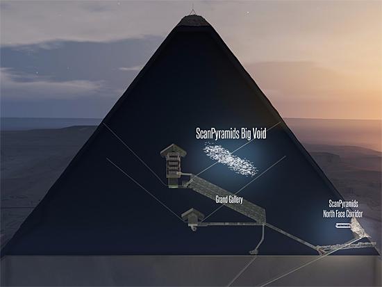 Enigma da pirâmide - câmara secreta em Quéops - Img 1