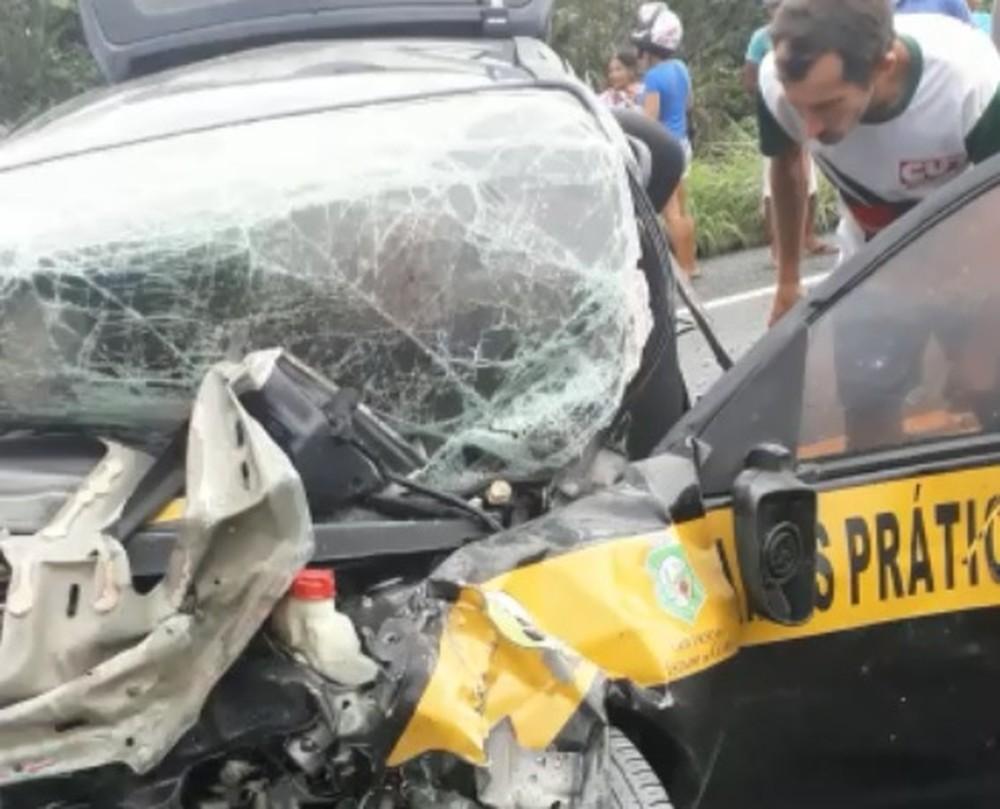 Acidente deixa dois mortos e feridos na BR-222, em Frecheirinha