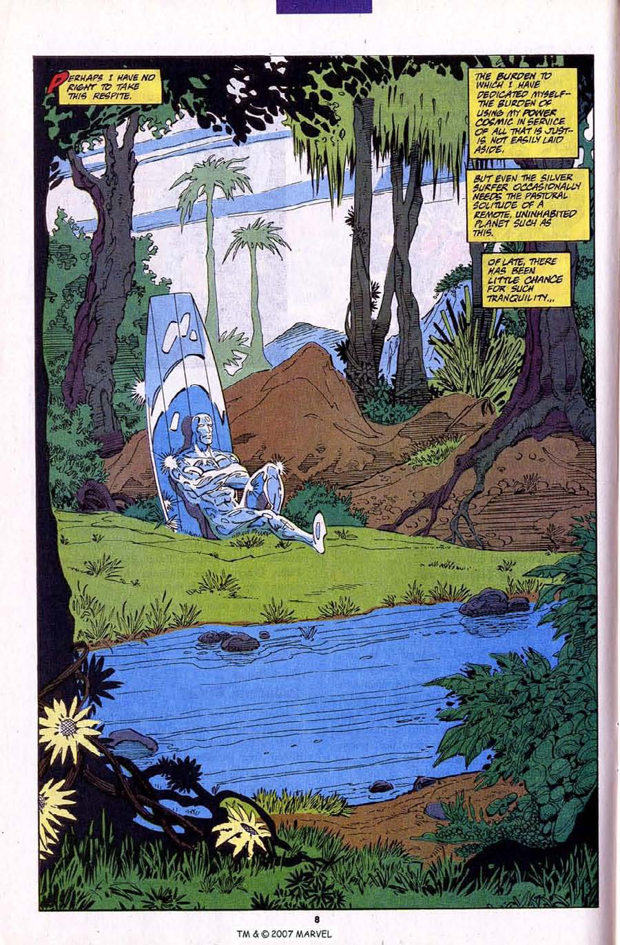Read online Silver Surfer (1987) comic -  Issue #79 - 10