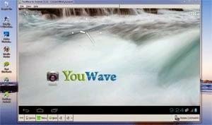 Tampilan Home Youwave