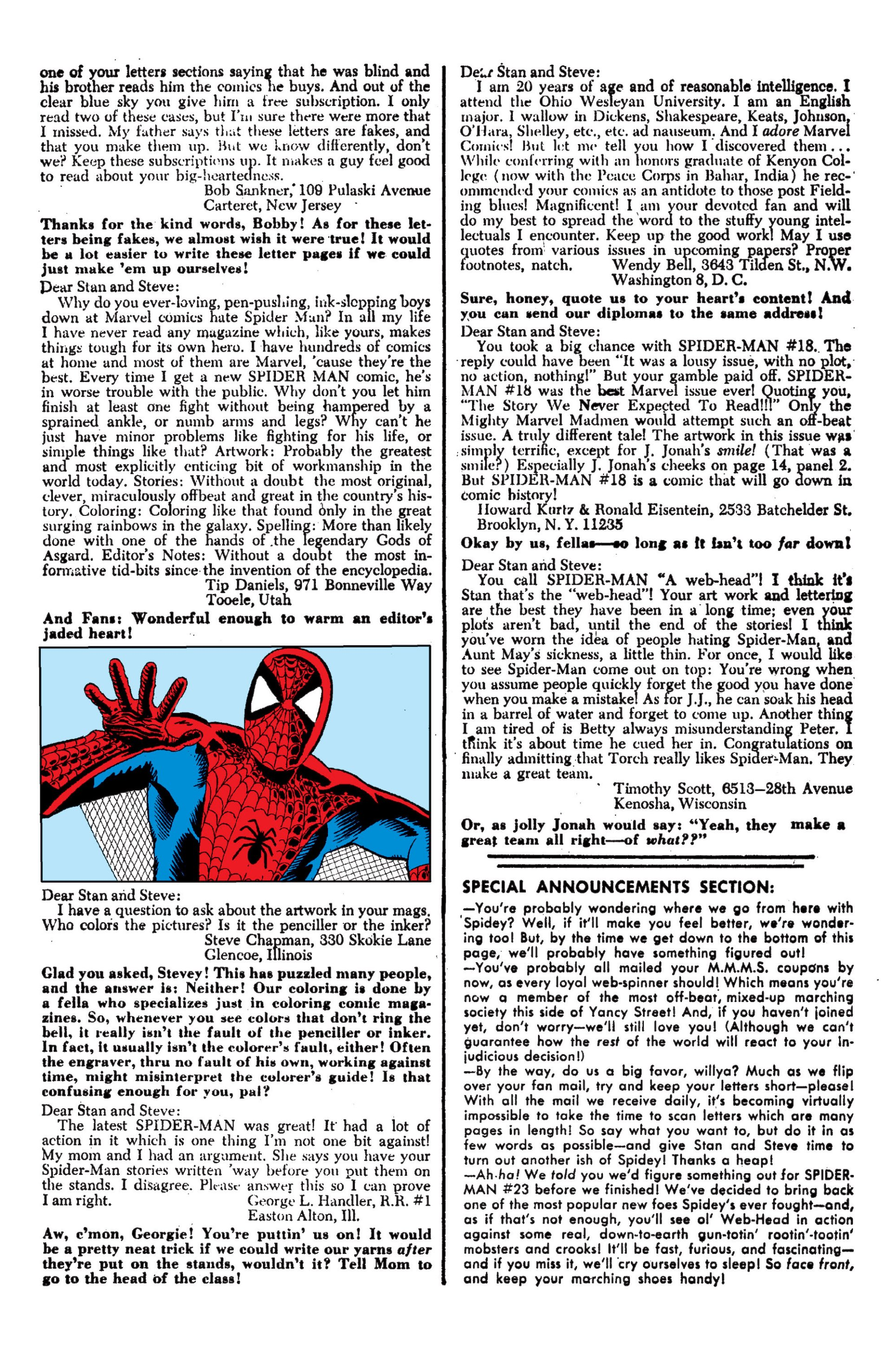 The Amazing Spider-Man (1963) 22 Page 22