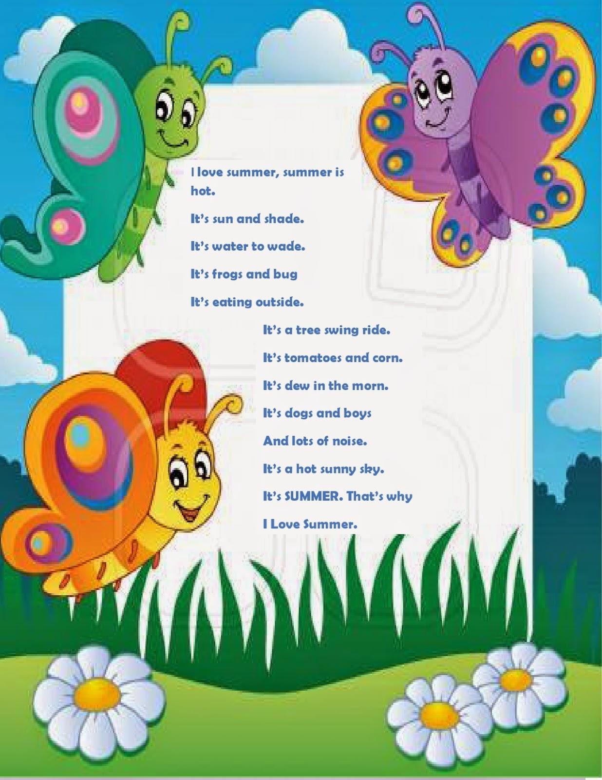 Goenka Nursery Holidays Homework