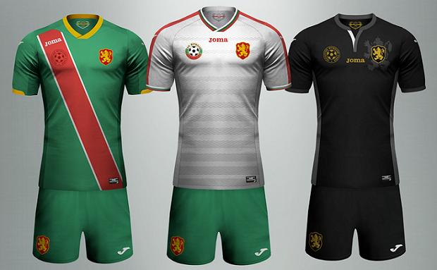 Joma apresenta as novas camisas da Bulgária - Show de Camisas 07d31a72afb4c