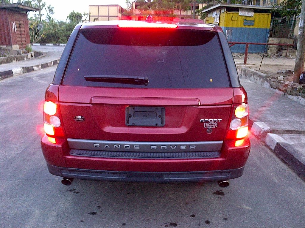 2007 Model Range Rover Sport HSE For Sale In Lagos***Super Neat ...