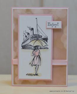 carte jeu traveler et resplendissante stampinup