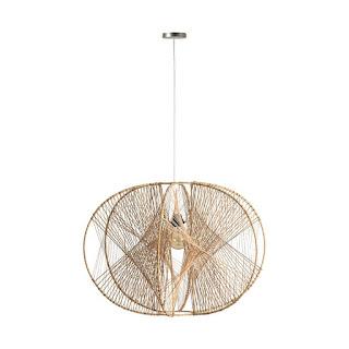 lampara original diseño ratan