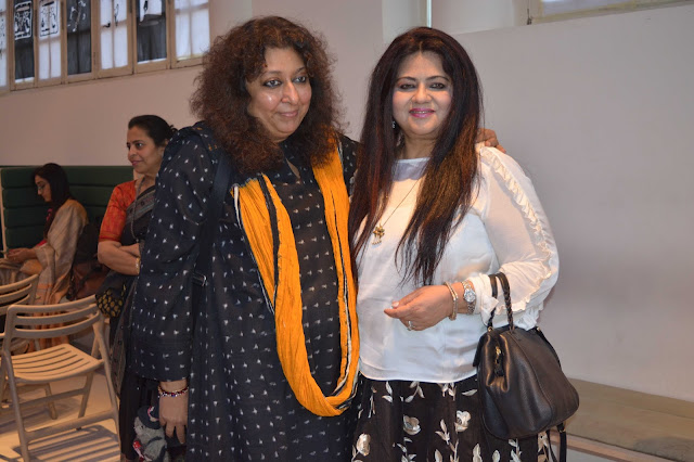 Madhu Jain with Nilofer Currimbhoy-