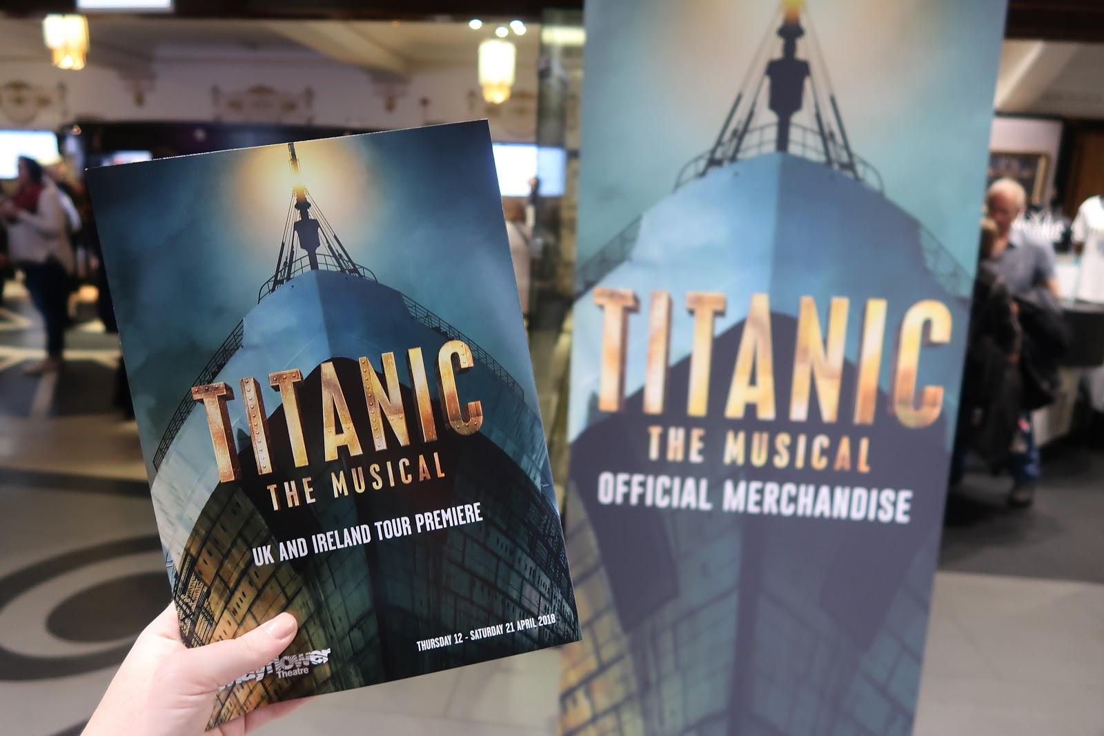 Titanic The Musical Mayflower Southampton Brogan Tate Xo