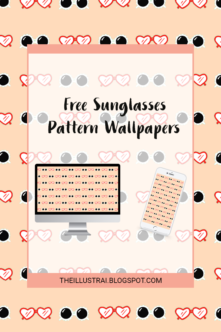Download the sunglasses pattern wallpapers for your phone and desktop