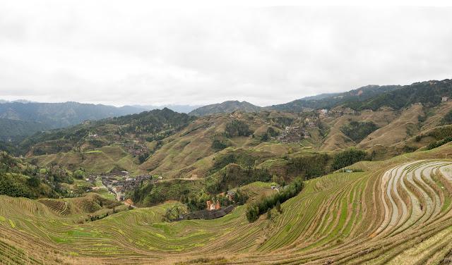 Guilin, rýžové terasy, Ping´an