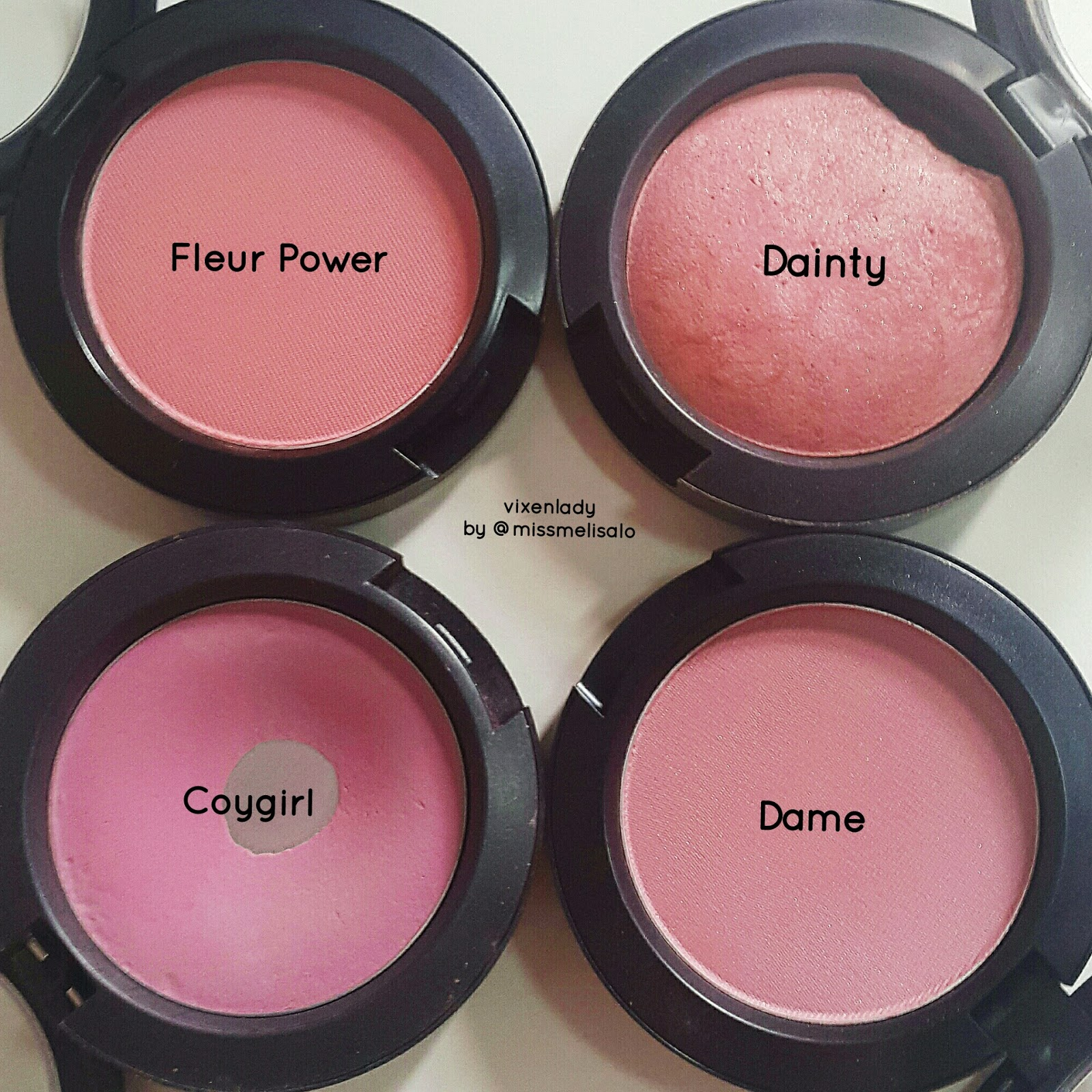 mac fleur power blush ingredients